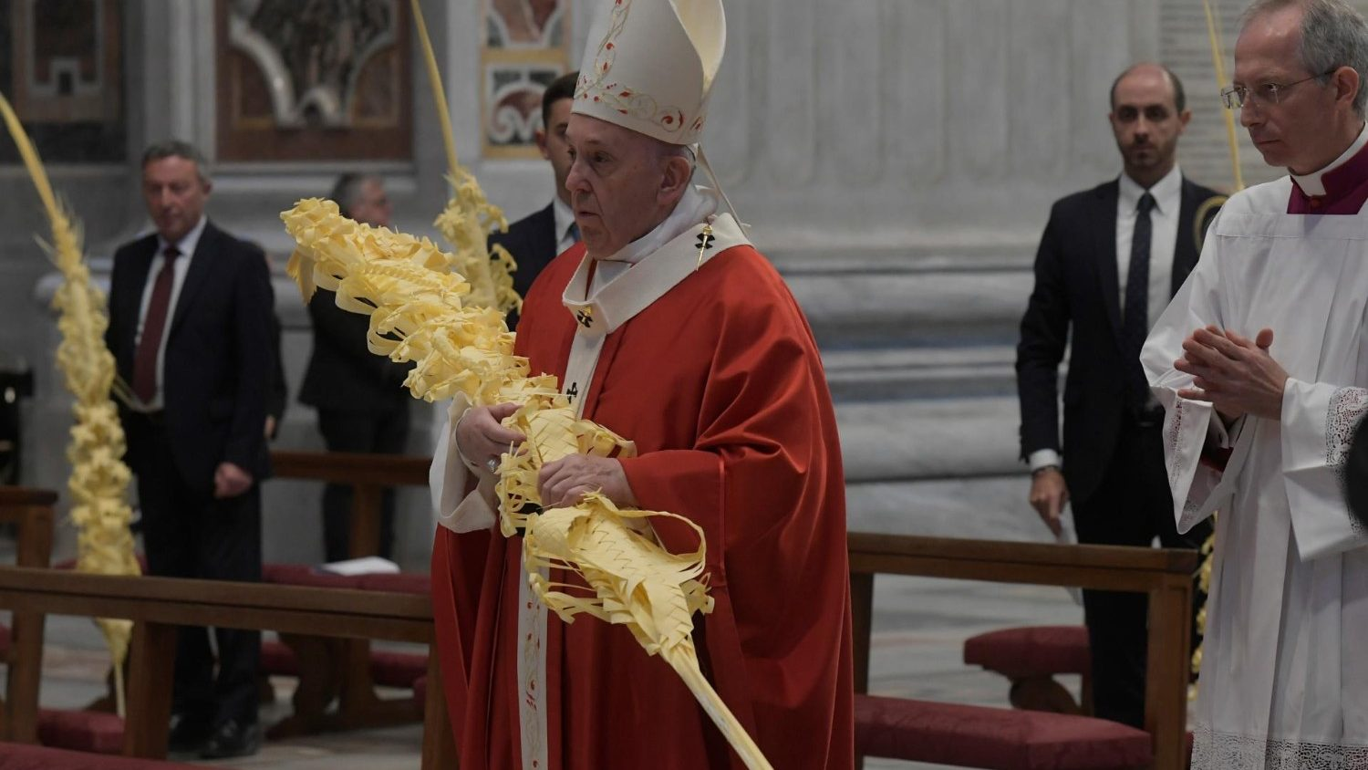 Pope Palm Sunday Homily: Full Text - Vatican News