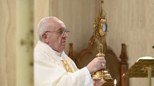 Pope at Mass prays for expectant women