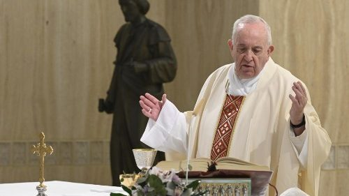 Pope at Mass: May no one be without work, dignity, a just wage