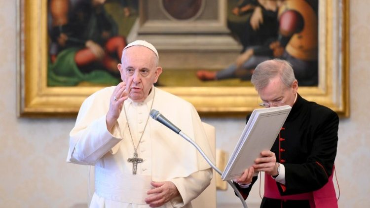 Pope Francis Lexicon Of Prayer During Audience Vatican News
