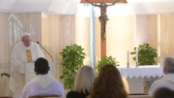 Pope Francis celebrates Mass to commemorate the 7th anniversary of his visit to Italy's Lampedusa island