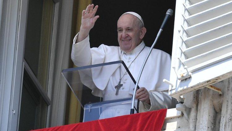 Pape François - Angélus, le 9 août 2020