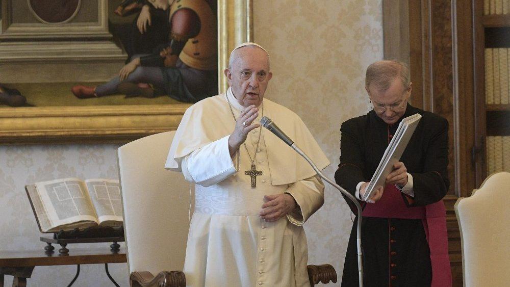 Generalaudienz Papst