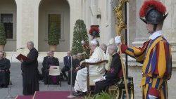 教宗9月9日公开接见