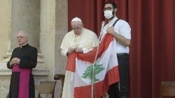 教宗呼吁众人为黎巴嫩祈祷