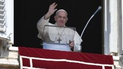 Pope Francis at Angelus on Sunday