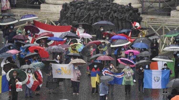 Monumento a los migrantes bendecido por Papa Francisco una año atrás