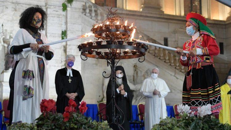 Rencontre internationale de prière pour la paix
