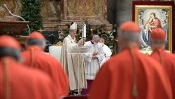 Pope urges new cardinals to stay on the Lord's road