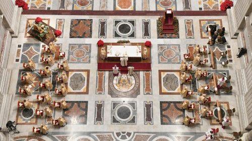 Vatican: calendrier des prochaines célébrations liturgiques