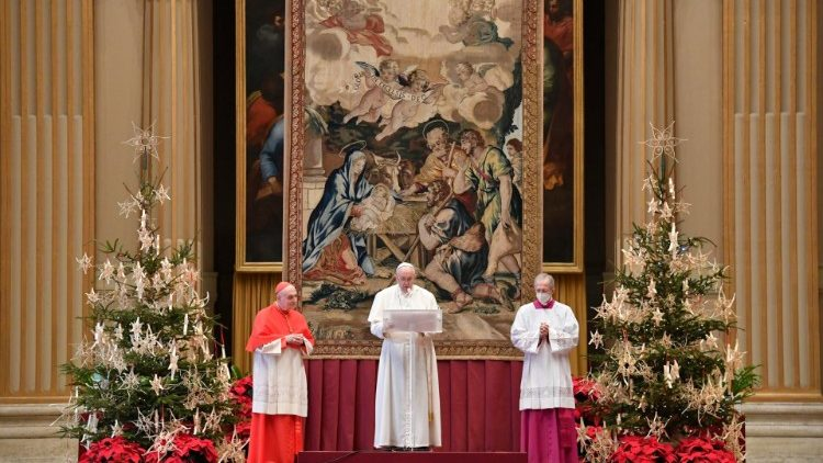 2020.12.25 Messaggio Natalizio e Benedizione Urbi et Orbi