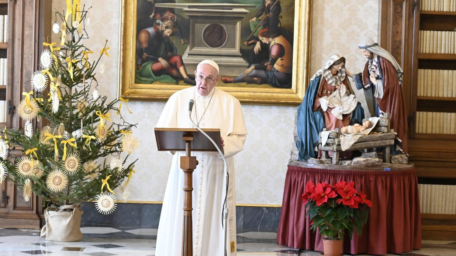 Pope Francis reflects on Holy Family by Sunday Angelus