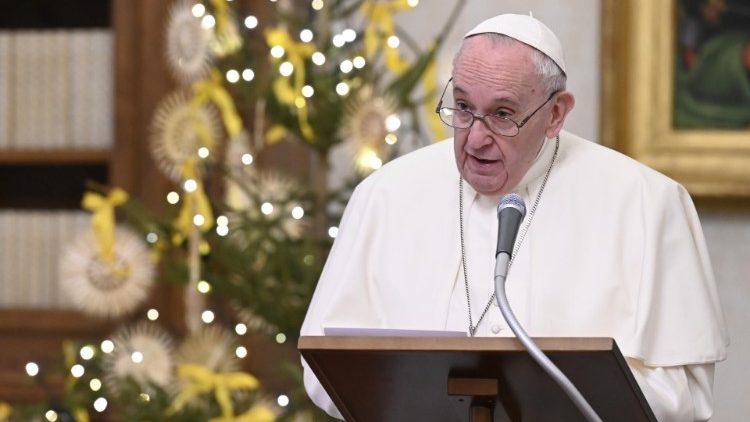 프란치스코 교황의 삼종기도