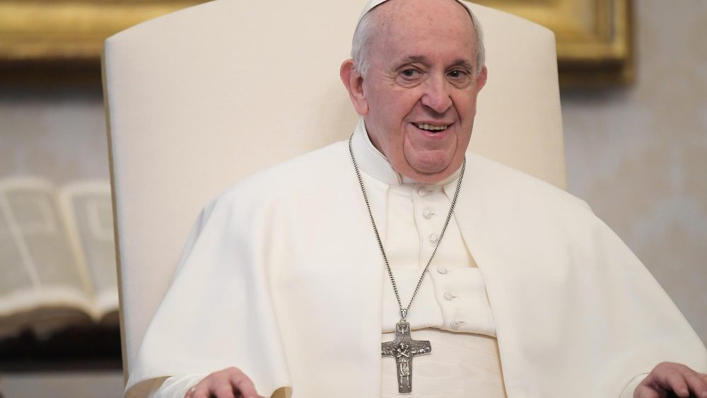 Papst Franziskus bei der Generalaudienz an diesem Mittwoch