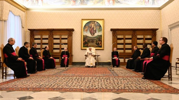 Pope at the General Audience of 10 February 2021