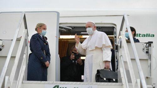 Pope Francis departs on Apostolic Journey to Iraq