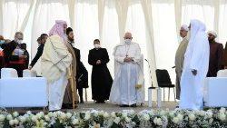 Viaggio Apostolico in Iraq, incontro interreligioso (Ur, 6 marzo 2021)