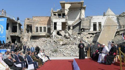 Francisco en Mosul: la fraternidad es más fuerte que el fratricidio