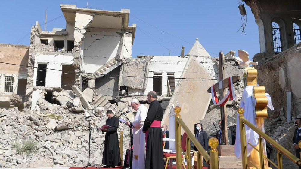 Papa Francisco em Mosul
