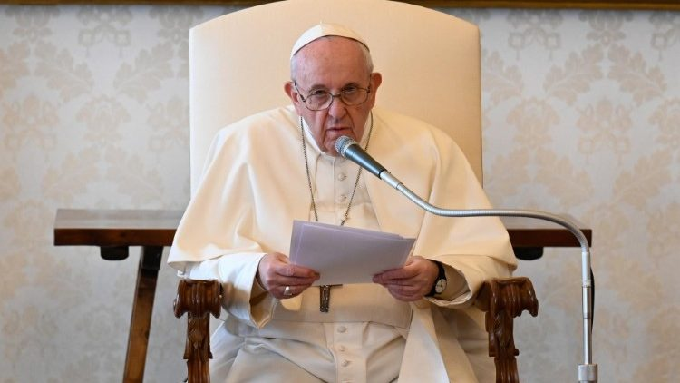 Pope Francis at the General Audience - file photo