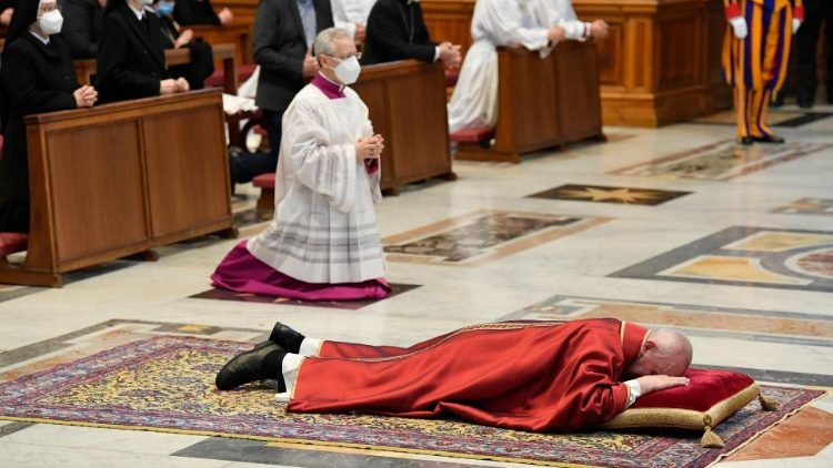 Celebration of the Lord's Passion in St. Peter's Basilica