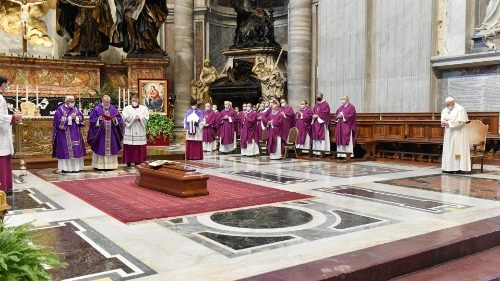 Funeral Mass of Archbishop Felix del Blanco Prieto