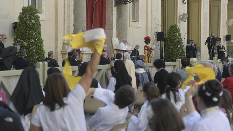 Audience générale: «la prière n'est pas une baguette magique»  Cq5dam.thumbnail.cropped.1500.844