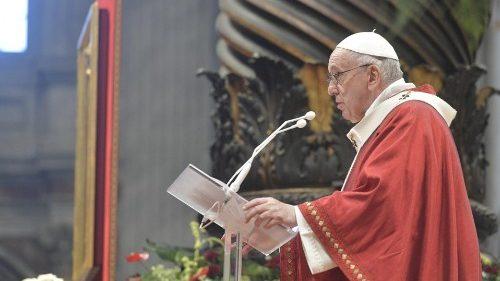 Papa Francisco: só uma Igreja liberta é uma Igreja credível