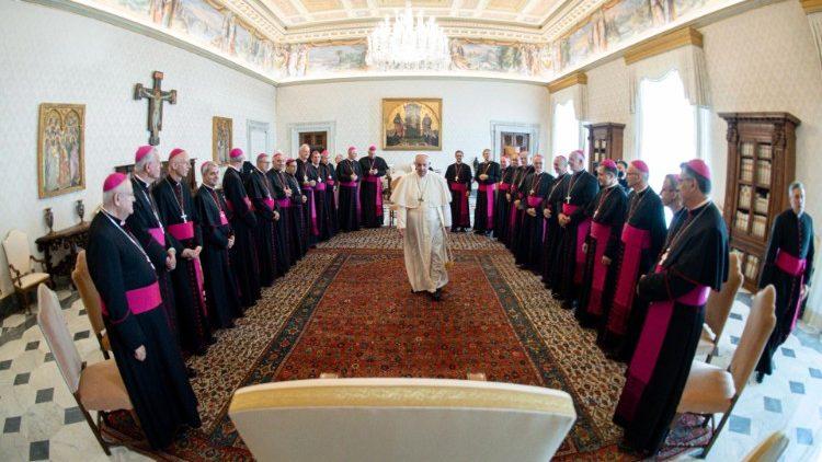 Các Giám mục Pháp viếng thăm Ad Limina