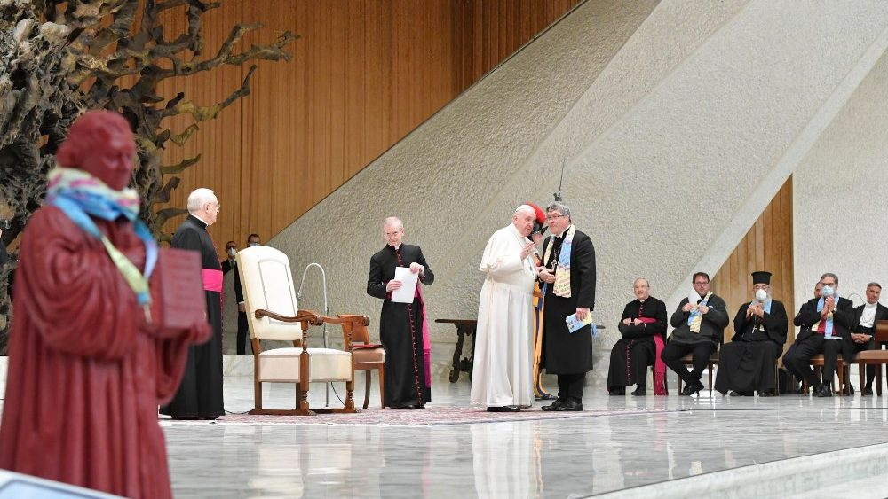 """Audience for Ecumenical Pilgrimage """"With Luther to Rome"""""""