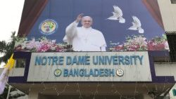 Die Notre Dame Universität in Bangladesh