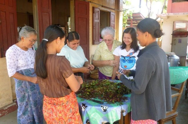 Columban missionary Sr Mary Dillon at the Hope Centre in Myanmar's Kachin state
