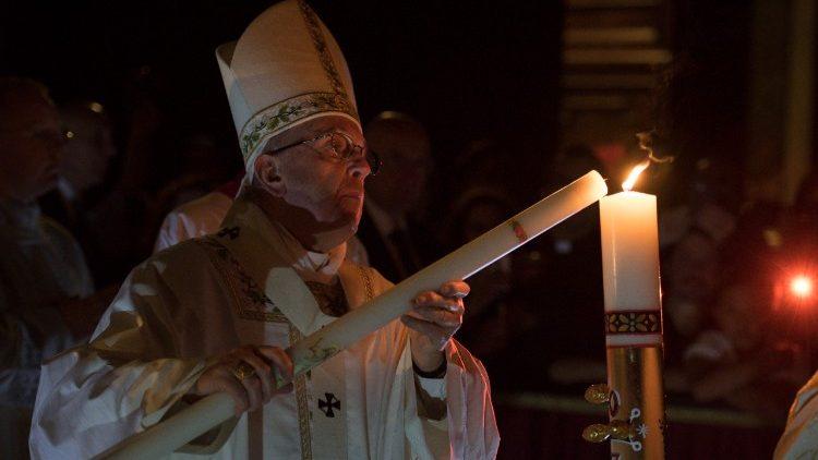 Vigília Pascal na Basílica de São Pedro
