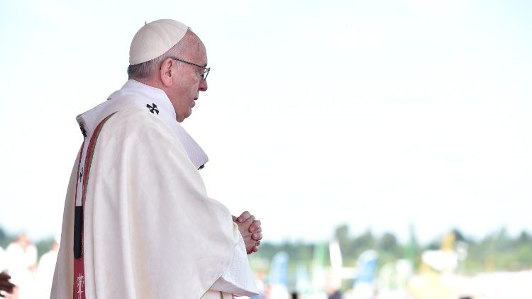 Pope Francis at the Mass in Temuco