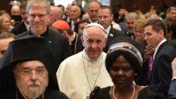 """Francesco e l'ecumenismo: un """"cammino irreversibile"""""""