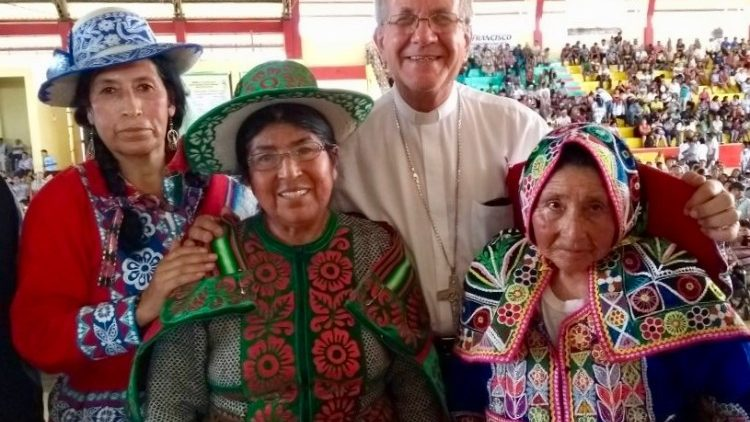 some representatives of Indigenous people in the Peruvian Amazon