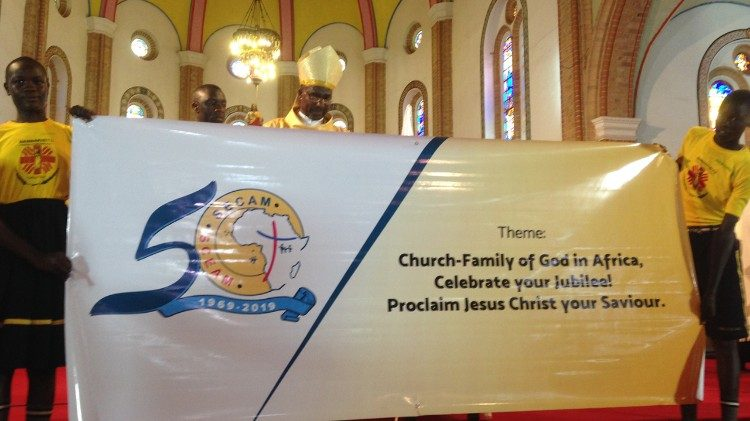 SECAM launches 50th anniversary during Mass in Kampala