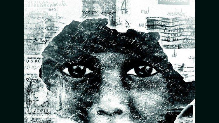 Un'immagine in ricordo delle vittime del genocidio in Rwanda