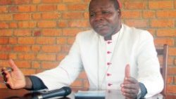 Cardinal Dieudonné Nzapalainga, the Archbishop of Bangui in CAR