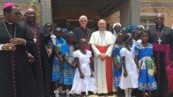 Cardinale Fernando Filoni in Malawi ( Photo Archive)