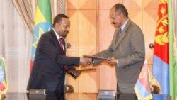 The leaders of Eritrea and Ethiopia commit to peace