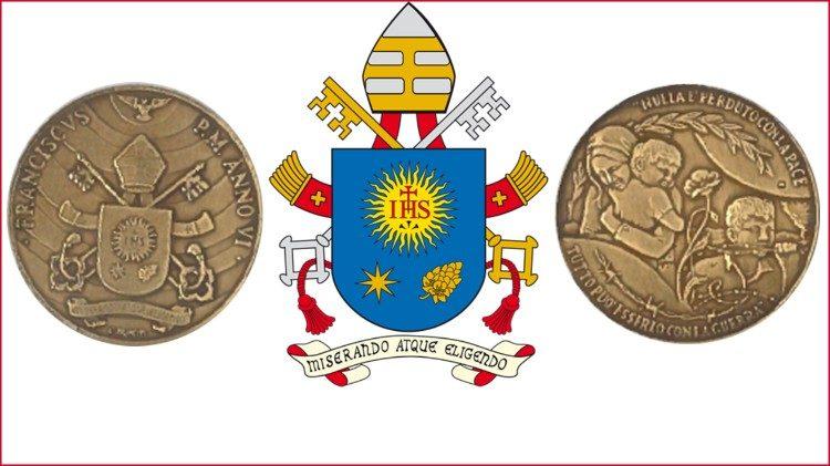 Vaticano celebra 6 anos do Pontificado de Francisco com medalha especial