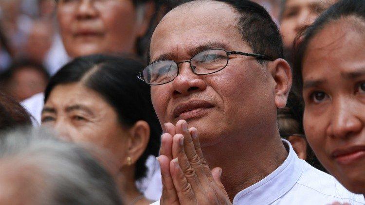 fedeli Cattolici in Cina, fedeli cinesi in preghiera