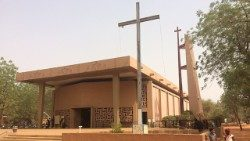 File photo of a Catholic church in Niger