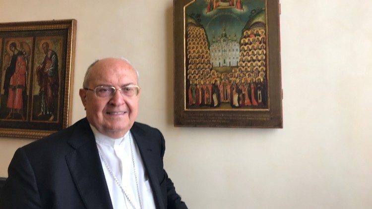 El cardenal Sandri