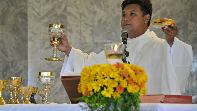Fr. Mark Ventura was killed by unidentified assailants on April 29 in northern Philippines.