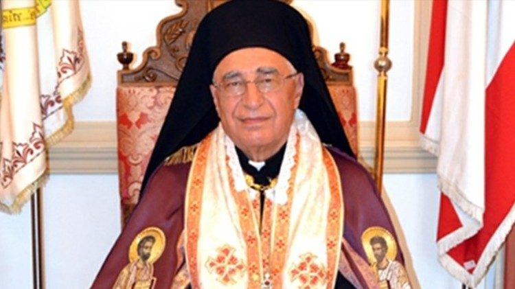 The new Greek Melchite Patriarch Youssef Absi
