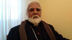 Archbishop Joseph Coutts of Karachi, Pakistan.