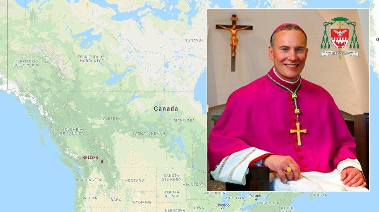Bishop Gregory Bittman, new Bishop of Nelson, Canada