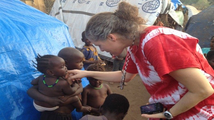 Hiszpańska misjonarka w Południowym Sudanie